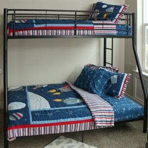 Twin Full Metal Bunk Beds