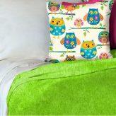 Green Minky Blanket