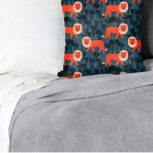 Grey Minky Blanket