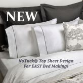 Easy NoTuck® Top Sheet Sets