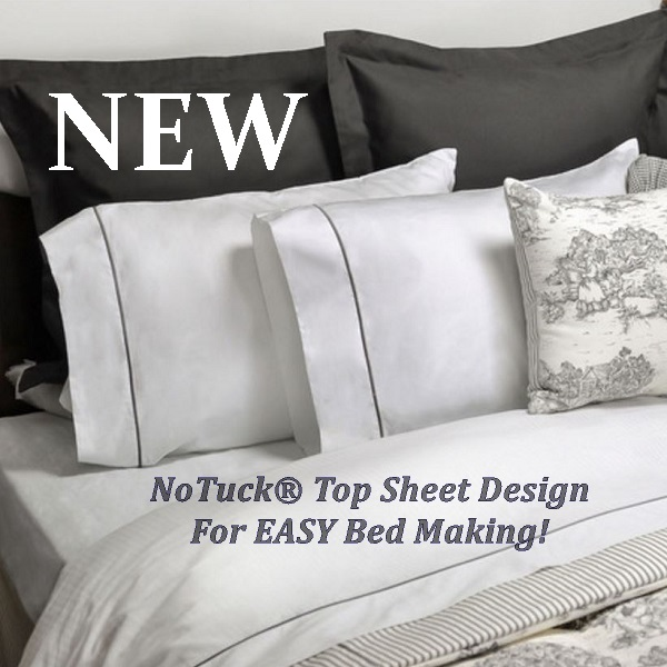 Elegant Easy NoTuck® Top Sheet Sets