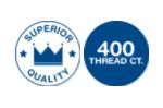 superior quality 400 TC zip sheets