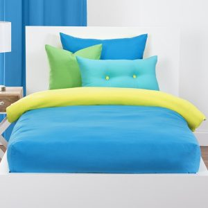 Crayola Solid Color Bunk Bed Cap Comforter Sets- Bunk Bed Bedding