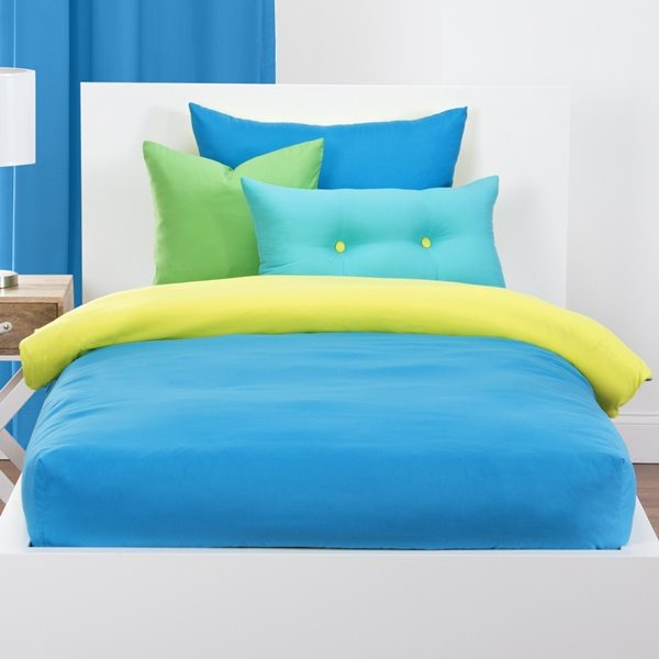 Crayola Solid Color Bunk Bed Cap Comforter Sets Bunk Beds Bunker