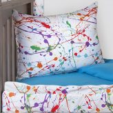 Splat Zip on Comforter with Sham