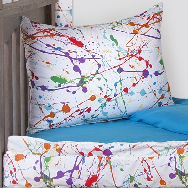 Splat Zip on Comforter with Sham