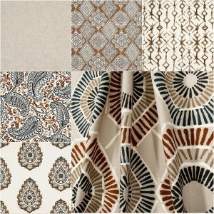 Caramel Macon Collection Fabric
