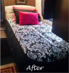 Custom RV Bedding Makeover3