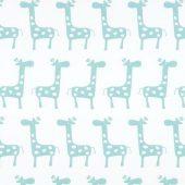 Stretch White Canal Twill Fabric