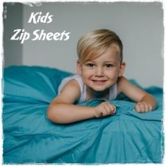 Shop Kids Zip Sheets - Zipper Bedding