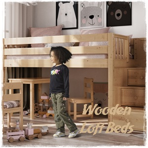Shop Wooden Low Loft Beds