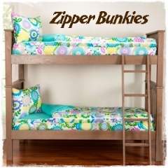 Shop Zipper Bedding Bunkies