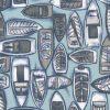 Colva Spa Blue - 100% Cotton - Wash Cold Water Mild Detergent