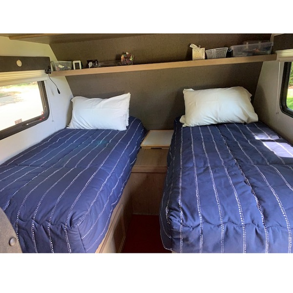 Custom Fitted Rv Bunk Bed Huggers Bunk Beds Bunker