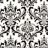 Traditions Black/White - 100% Cotton - Wash Cold Water Mild Detergent