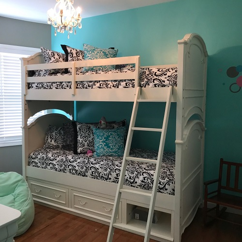 Black & White Traditions Bunk Bed Huggers