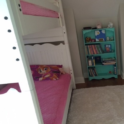Bubble Gum MInky Bunk Bed Hugger