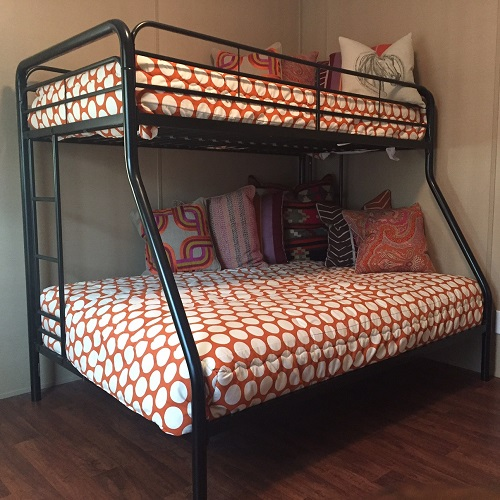 Campano Pumpkin Dot Bunk Bed Huggers