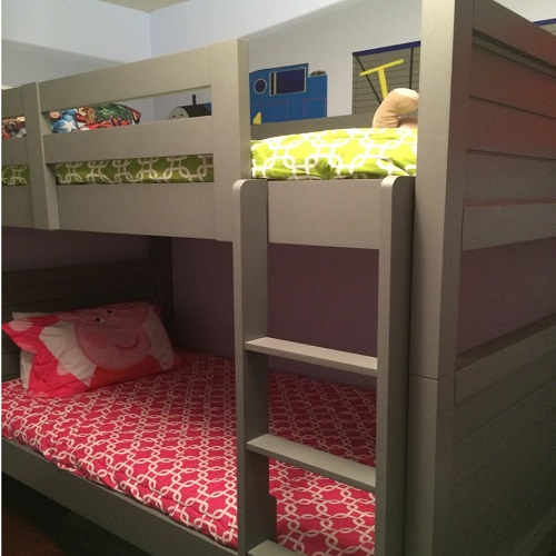 Gotcha in Candy Pink and Chartreuse Bunk Bed Huggers