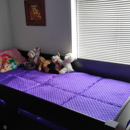 Minky Bunk Bed Hugger