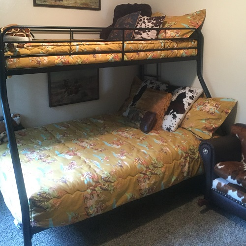 Mustard Rodeo Bunk Bed Hugger