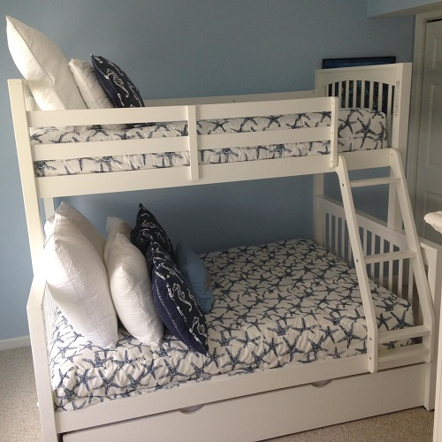 Navy Sea Friends and Sea Horse Bunk Bed Bedding
