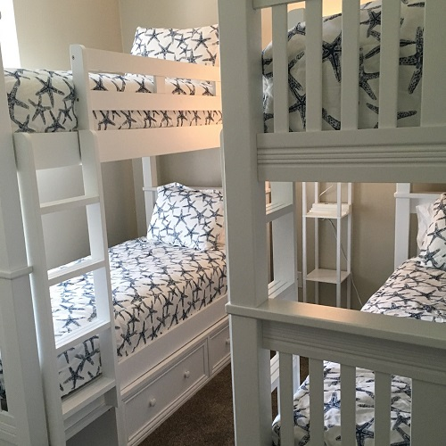 Premier Navy Sea Friends Bunk Bed Huggers