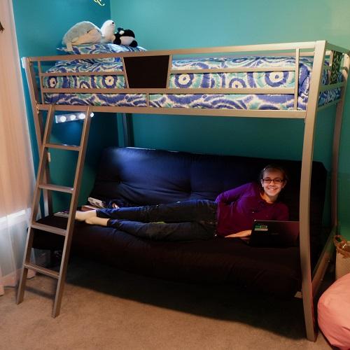 Spiro Gyro Tie Dye Bunk Bed Hugger