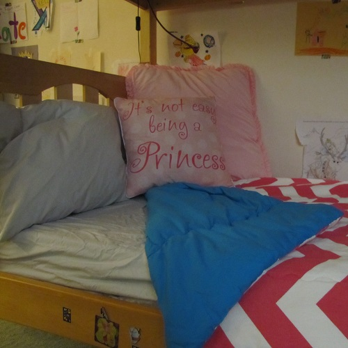 Zippy Candy Pink Bunk Bed Hugger Comforter