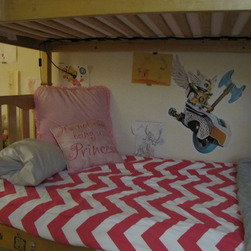 Zippy Candy Pink Bunk Bed Hugger