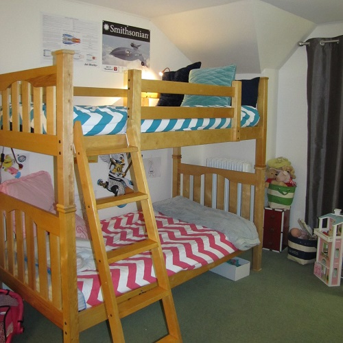 Zippy Chevron Bunk Bed Huggers