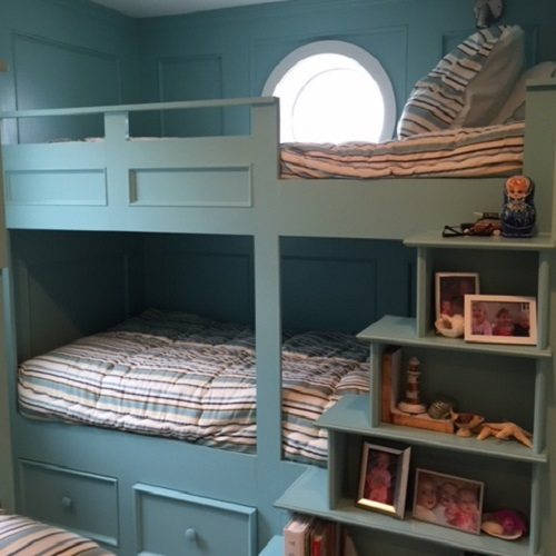 Cambridge Stripe Bunk Huggers