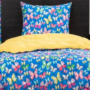 Brilliant Butterflies Bunk Bed Comforter Set or Bunkie