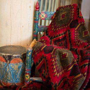 Navaho Wind Throw Blanket