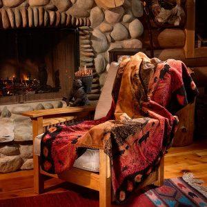 Roaming Buffalo Throw Blanket
