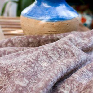 Stone Tapestry Throw Blanket