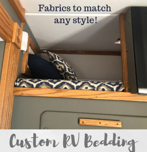 Custom RV Bedding