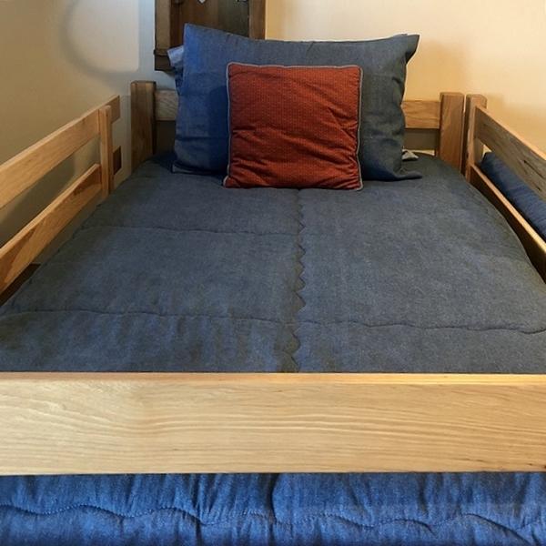 Denim Bunk Bed Bedding Hugger Fitted Comforter Bunk Beds Bunker